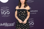 Olivia Munn Off-the-Shoulder Dress