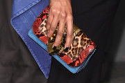 Jourdan Dunn Printed Clutch
