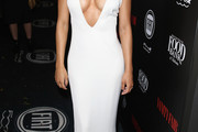 Naya Rivera Form-Fitting Dress