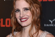 Jessica Chastain Loose Ponytail
