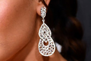 Demi Lovato Dangling Diamond Earrings