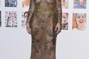 Kim Kardashian Sheer Dress