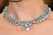 Katie Holmes Diamond Collar Necklace