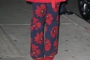 Mindy Kaling Print Pants