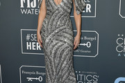 Annabelle Wallis Beaded Dress