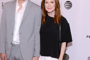 Julianne Moore Loose Blouse