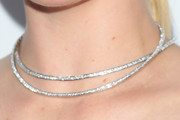 Kate Upton Layered Diamond Necklace