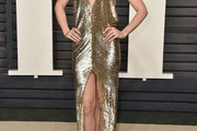 Lily Collins Sequin Dress