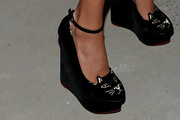 Jessica Hart Wedges