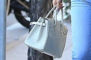Kylie Jenner Exotic Skin Tote