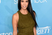 Kourtney Kardashian Form-Fitting Dress