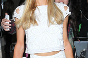 Paris Hilton Crop Top