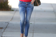 Reese Witherspoon Ripped Jeans