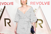 Whitney Port Off-the-Shoulder Dress