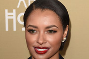 Kat Graham Side Parted Straight Cut