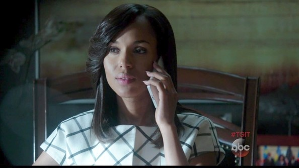 Kerry Washington on 'Scandal'